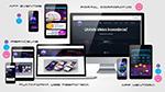 Novo portal / plataforma web responsiva & App